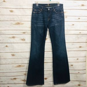 7 for all mankind women's size 28 flare jeans